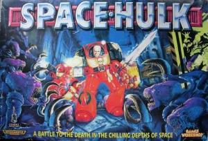 Space Hulk box art