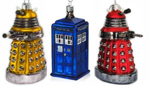 Dr Who tree decorations