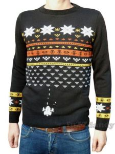 Space Invaders Christmas Jumper